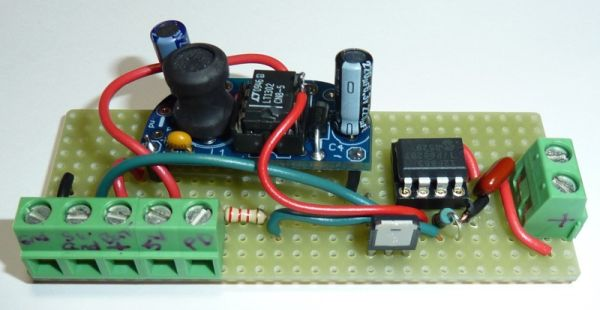 Prototype Power Controller using Minty Boost Converter